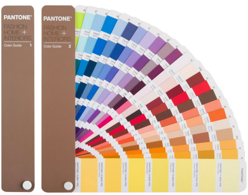 pantone fashion color guide